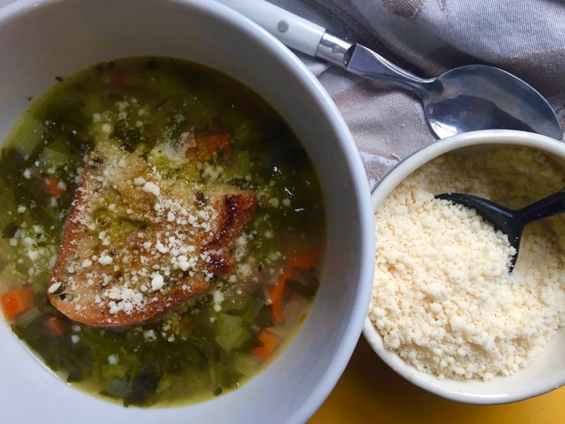 minestrone bread ribollita