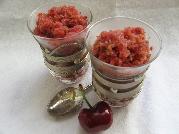 cherry granita