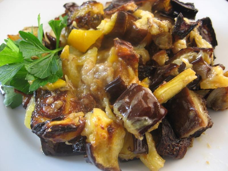 eggplant roasted