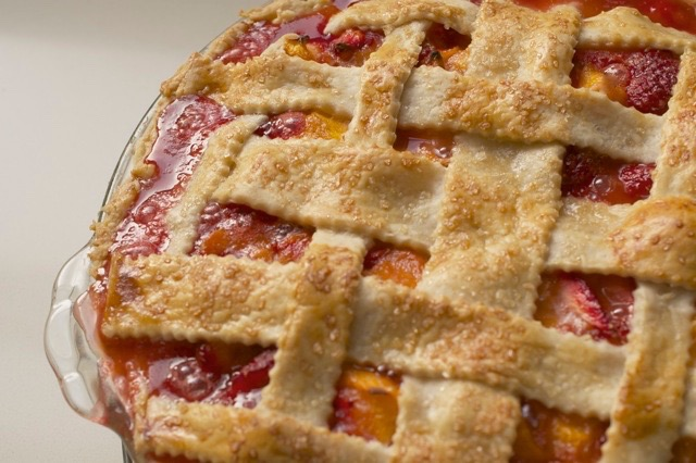strawberry apricot pie