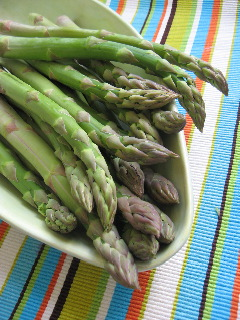 four great ways with asparagus