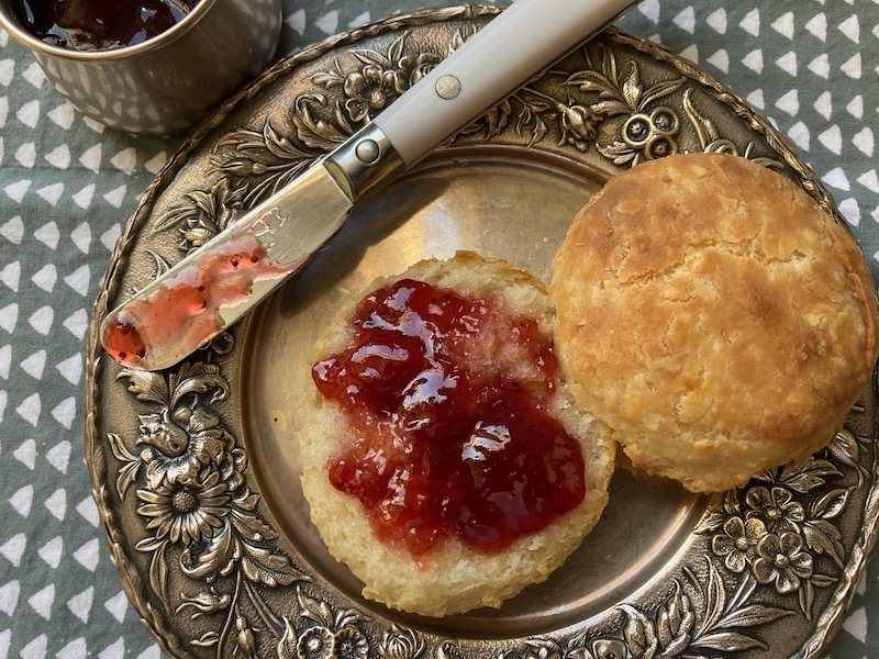 carla hall's biscuits